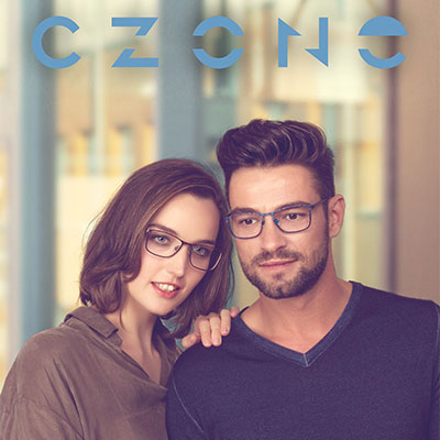 C-Zone homepage tile with couple.
