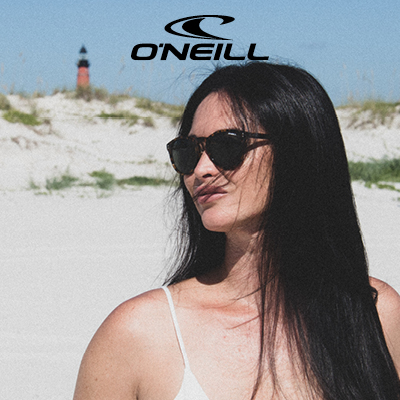 O'Neill homepage tile for Sunglasses.